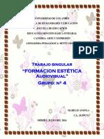 Trabajo Singular g4 Estetica