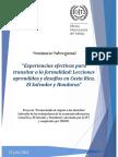 """INFORME Seminario Subregional """"Experiencias efectivas para transitar a la formalidad"""