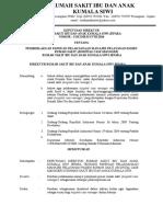 SK Pemberlakuan Panduan Case Manager