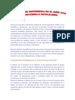 Hipoglucemia e Hipocalcemia