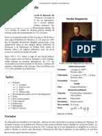 Nicolás Maquiavelo - Wikipedia, La Enciclopedia Libre