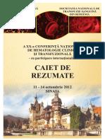 Caiet Rezumate Romana 2012