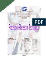 Trabajo Proceso de Planeacion Tecnologica-gestion de Tecnologia