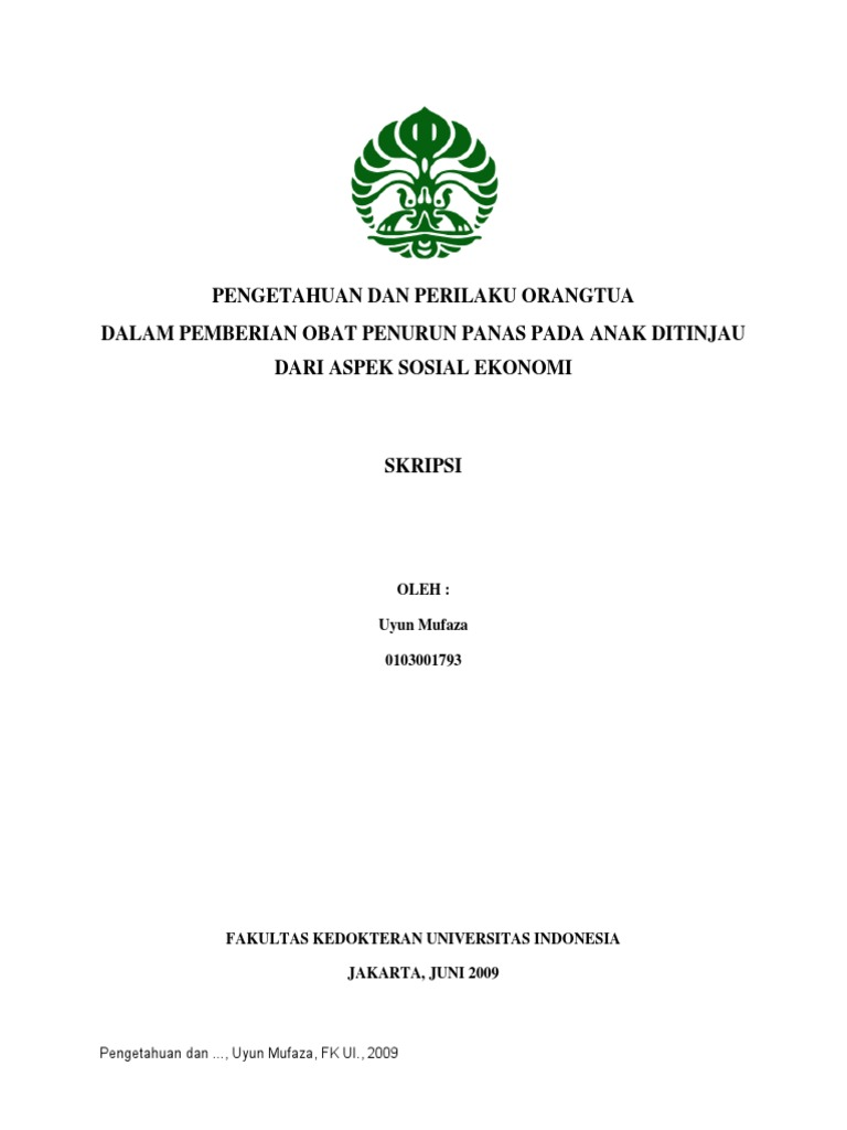 Cover Data Klinikal Demam