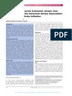 EBM in Stroke
