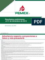 Pemex 2015