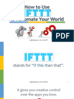 How to Use IFTTT_Angelica Banaag