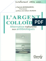 0 -Bonnardel, Jean-Patrick - L'Argent colloïdal -Alternative naturelle aux antibiotiques