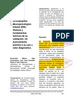 3. ENI Historia y Fundamentos Teoricos de Su Validación Un Acercamiento Practico a Su Uso y Valor Dx -Matute E