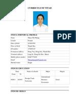 Curriculum Vitae - Docs Executive