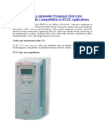 Specifying Adjustable Frequency Drives for Electromagnetic Compatibility in HVAC Applications