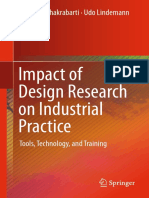 Amaresh Chakrabarti, Udo Lindemann Eds. Impact of Design Research on Industrial Practice Tools, Technology, And Training