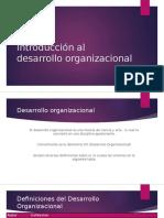 Unidad 4. Introducción Al Desarrollo Organizacional