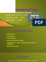 Endomarketing Sergio Dario