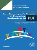 Procedimineto Para La Detencion de Acoso Laboral