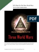 Albert Pike Three World Wars