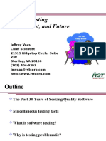 Software Testing_Past, Present, And Future
