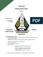 Sistem Basis Data SQL 71130121