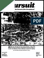 PURSUIT Newsletter No. 58, Second Quarter 1982 - Ivan T. Sanderson