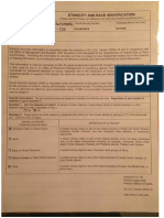 SF 181 and Statutory Declaration and attachments