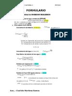 formulario Inhibidor de hidratos