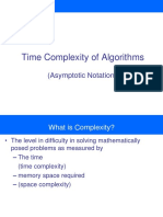 Assymptotic Notations