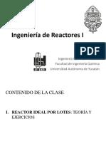 9. Reactor Por Lotes Perfectamente Agitado - Múltiples Reacciones Independientes