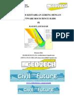 s Geoteknik Tutorial Rocscience Slide