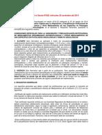 Actualización Normativa Antineoplásicos Gaceta 228 Miércoles 26 Noviembre 2014