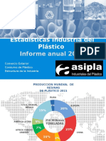 Estadisticas Anuales 2015 From Asipla