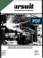 PURSUIT Newsletter No. 64, Fourth Quarter 1983 - Ivan T. Sanderson