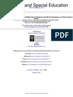 Wehmeyer-Access Curriculum 2003