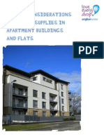 Design Considerations for Water Supplies in Apartment Buildings and Flats LED