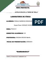 Informe de Práctica Campo Electrico