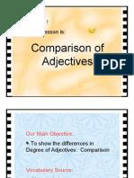 Comparison Adjectives 001