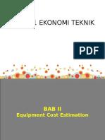6761_2. Equipment Cost Estimation