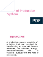 L-4 Design of Production System