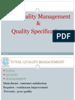 L-1 TQM, Quality Specification, Design