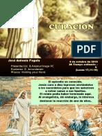 Jesús y los 10 leprosos