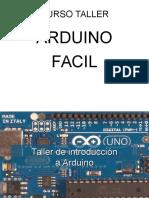 Curso Taller Arduino 2016