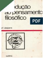 k Jaspers - Introdução Ao Pensamento Filosófico [150 Pps][3a ED.][1965]