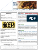 2010 California Republican Party Voter Guide