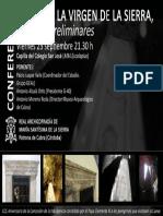 2016-09-23 Cartel Cueva Virgen Sierra Cabra