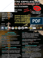 2016-11-18 Cartel II Encuentro Espeleológico Alameda