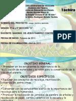 Proyecto de Aprendizaje Juego,Reciclo y Aprendo
