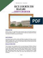 Citizen Charter Tis Hazari
