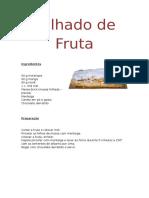 Folhado de Fruta