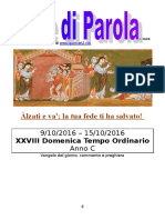 Sete di Parola - XXVIII settimana C 2016 (bis).doc