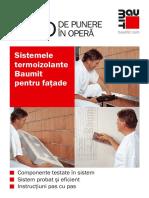 Baumit_Ghid Punere in Opera Termosisteme_rezumat