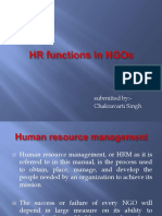 Hr Funtions in Ngo